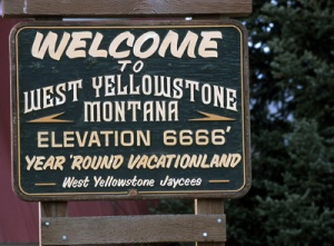 Welcome to West Yellowstone